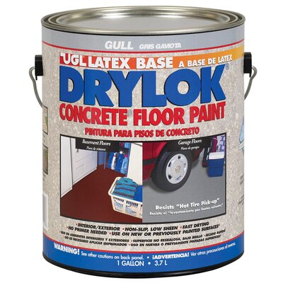 UGL 1 Gallon Gull Drylok® Latex Base Concrete Floor Paint Low VOC F
