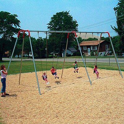 Modern Bipod Swing Set