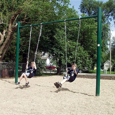 SportsPlay Single Post Swing Set