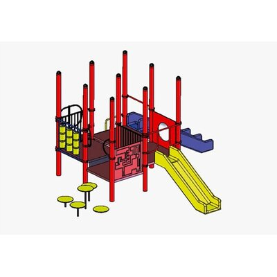 SportsPlay Lauren Modular Play Set