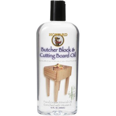HowardProducts 12 Oz Butcher Block Oil BBB012