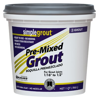 Custom Building Products Pre Mixed Grout in Alabaster