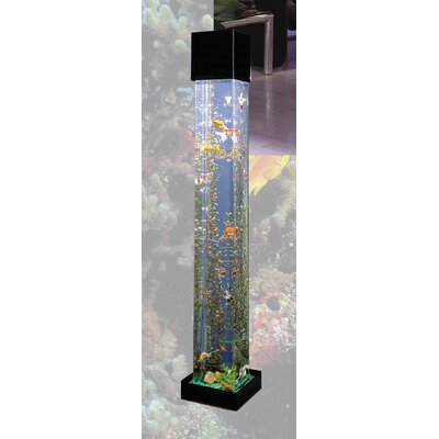 AquaTower 20 Gallon Square Aquarium