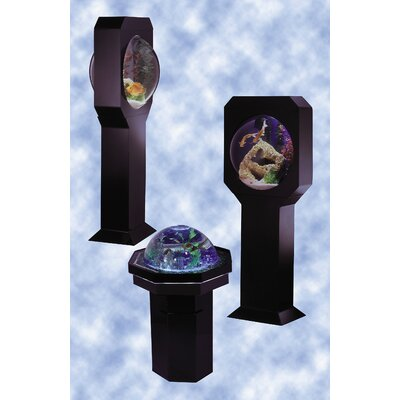 AquaVision 30 Gallon Aquarium with optional Hourglass Stand