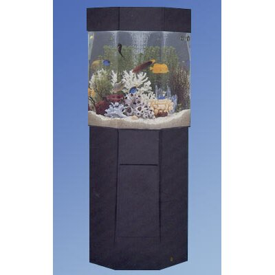 midwest tropical fountain aqua 35 gallon custom pentagon