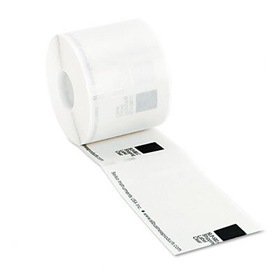 Seiko Self-Adhesive Shipping Labels for Label Printers, 2-1/8 x 4, Clear, 220/Box