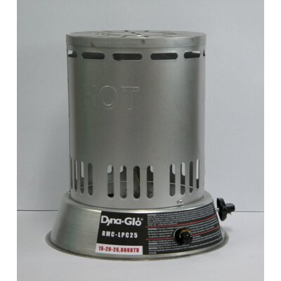 DuraHeat 25,000 BTU Convection Propane Space Heater