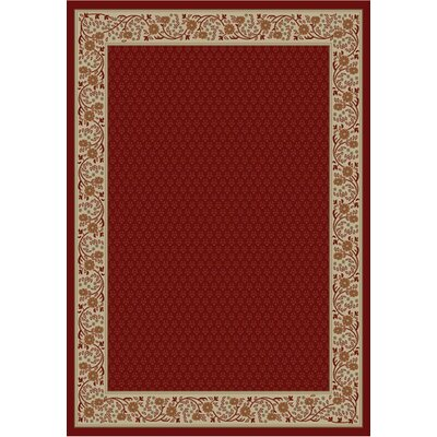 Gem Harmony Red Rug