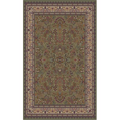 Concord Global Imports Gem Sarouk Green Rug