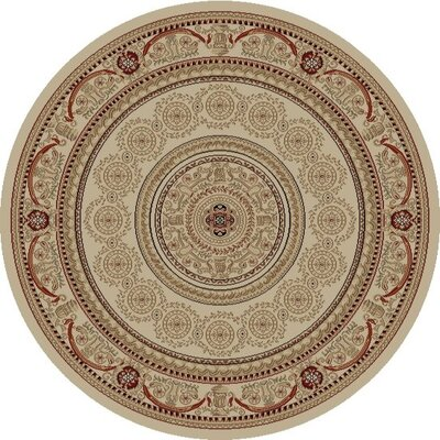 Concord Global Imports Gem Aubusson Ivory Rug
