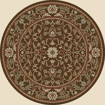 Concord Global Imports Arthur Flora Brown Rug