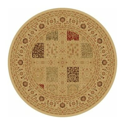 Concord Global Imports Charlemagne Magnificent Panel Ivory Rug