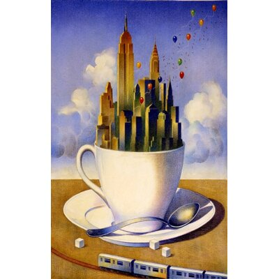 Concord Global Imports New York City Our Cup of Tea Novelty Rug
