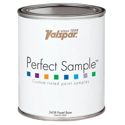 Valspar 1 Pint Tint Base Perfect Sample™ Custom-Tinted Paint Samples