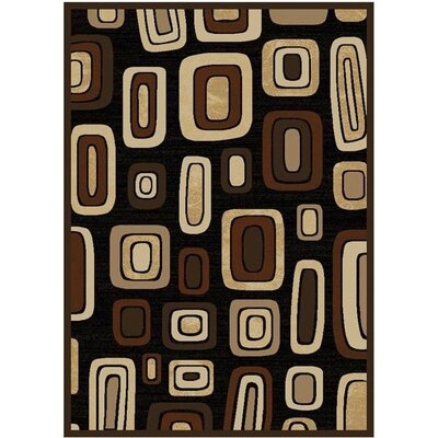 Moda Black/Brown Rug