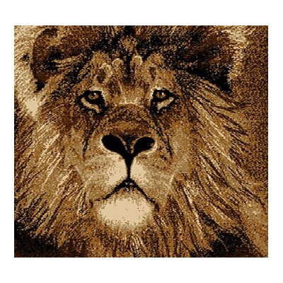 Home Dynamix Zone Lion Novelty Rug