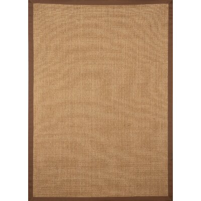 Sisal Brown Border Rug