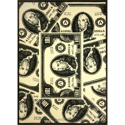 Home Dynamix Zone Currency Novelty Rug
