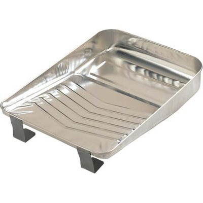 "Gam 9"" Bright Metal Paint Tray PT09030"