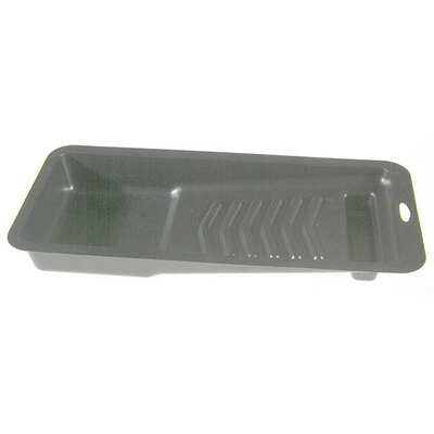 "ShurLine 4"" Black Plastic Paint Tray 12050C"