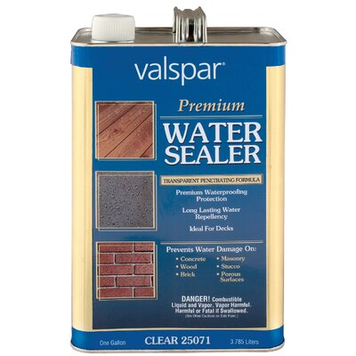 Valspar 1 Gallon Premium Water Sealer 44-7276 GL