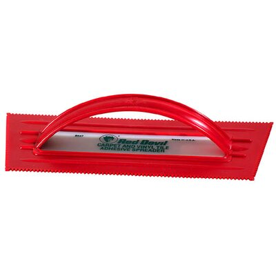 Red Devil Plastic Vinyl Tile & Carpet Trowel 2047