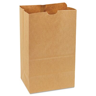 General 20 Squat Kraft Paper Bag in Brown