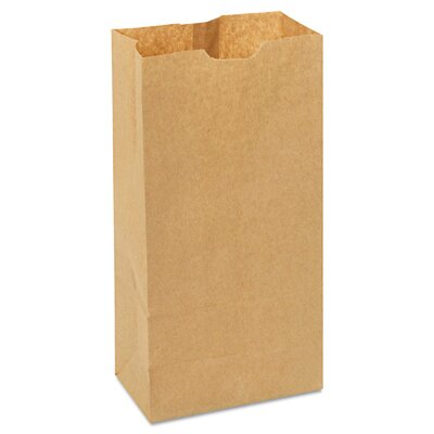 General 4 Kraft Paper Bag in Brown with 500 Per Bundle