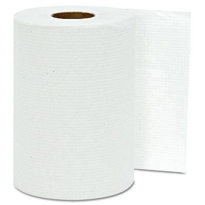Hard-wound Roll Towels in White