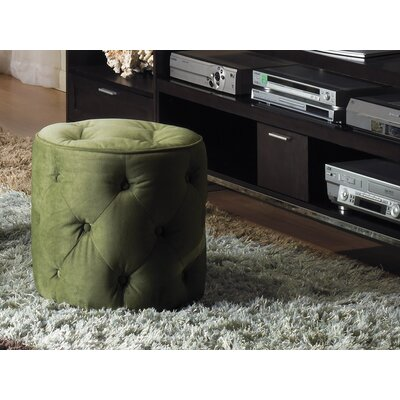 Ave Six Curves Fabric Ottoman