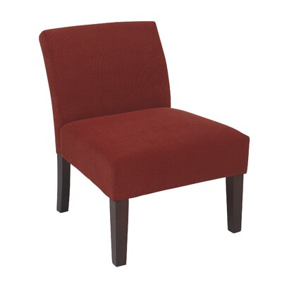 Ave Six Laguna Fabric Slipper Chair