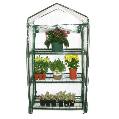 Alpine 3 Tier Growing Rack Greenhouse