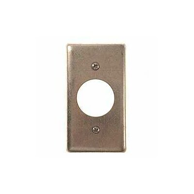 HubbellRaco Single Gang Handy Box Receptacle Wallplate Cover