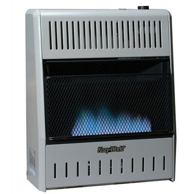 KozyWorld 30,000 BTU Fan Forced Gas Wall Space Heater