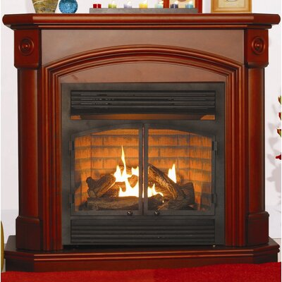 KozyWorld Montclaire Dual Fuel Vent Free Gas Fireplace