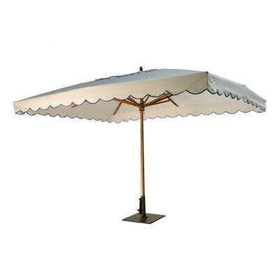 Green Corner 10' x 13' Market Umbrella