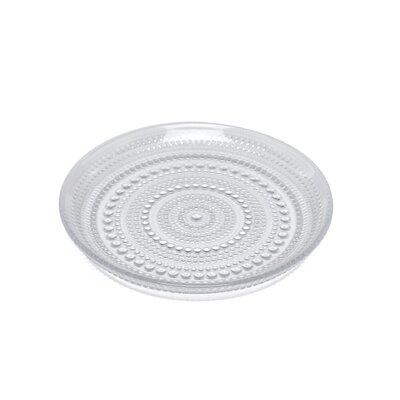 """iittala Kastehelmi  6.75"""" Clear Plate"""