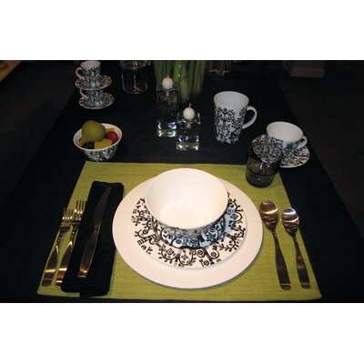 iittala Taika Black Dinnerware Set