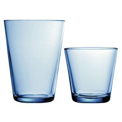 Kartio Glassware Set Light Blue-Kartio 7 Oz. Tumblers