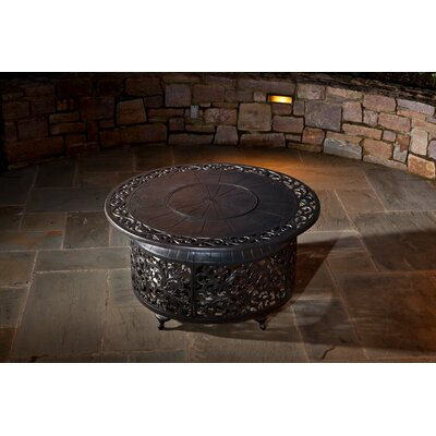 Alfresco Home Bellagio Coffee Table with Firepit
