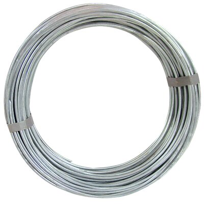 Ook 50' 9 Gauge Galvanized Steel Hobby Wire 50140