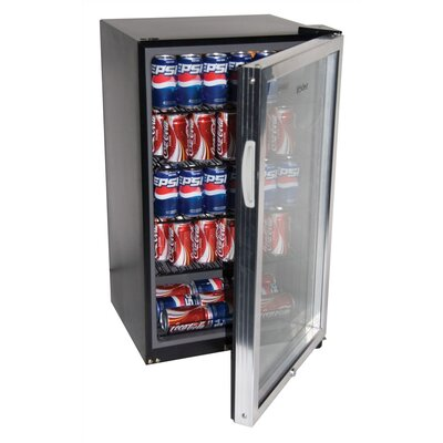 Haier 150 Can Beverage Cooler w/ Automatic Interior Light