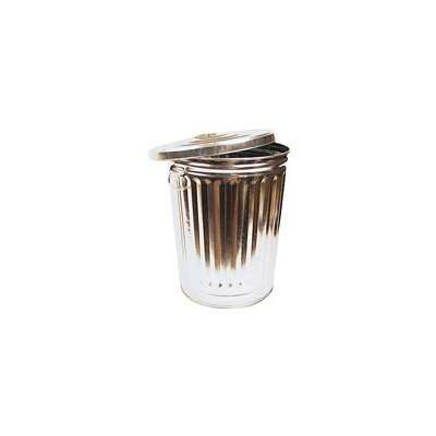 Norwesco 32 Gallon Galvanized Tapered Garbage Can