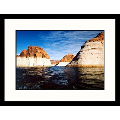 Forbidden Canyon, Rainbow Bridge Monument, Utah Framed Photograph - James Denk