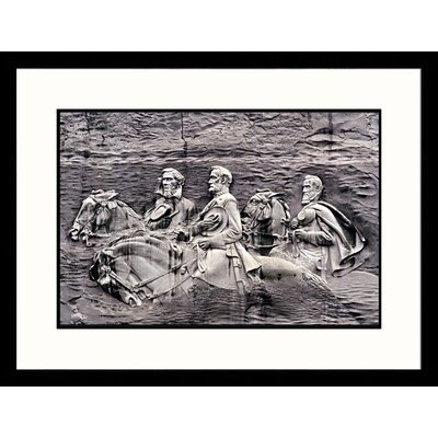Great American Picture Stone Mountain Monument, Georgia Framed Photograph - Walter Bibikow