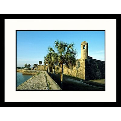 Great American Picture Castillo de San Marcos National Monument Framed Photograph - Stephen Saks