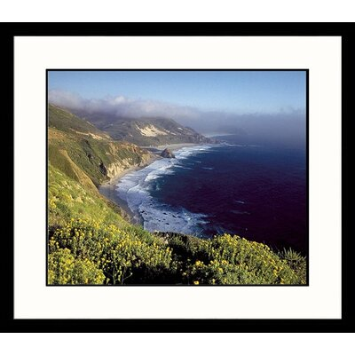 Great American Picture Big Sur Framed Photograph
