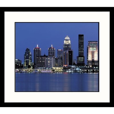 Great American Picture Louisville at Night Framed Photograph - Adam Jones