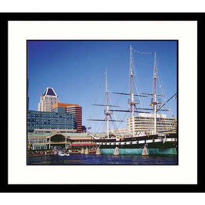 Great American Picture USS Constellation Framed Photograph