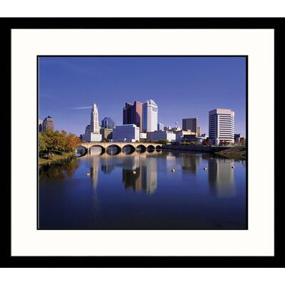 Great American Picture Cityscapes 'Columbus Skyline' by Richard Stockton Framed Photographic Print